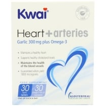 Kwai Heart & Arteries 30 + 30 Tablets (CURRENTLY UNAVAILABLE)