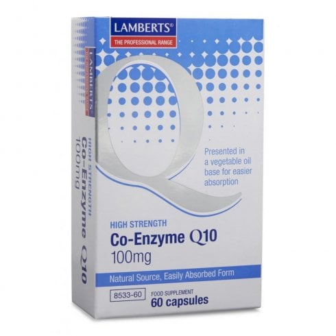 Lamberts Co-Enzyme Q10 100mg 60's