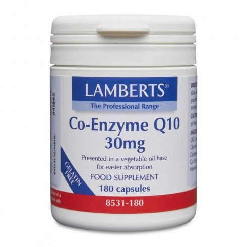 Lamberts Co-Enzyme Q10 30mg 180's