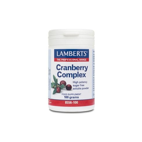 Lamberts Cranberry Complex Powder with FOS & Vitamin C - 100g