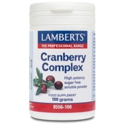 Cranberry Complex Powder with FOS & Vitamin C - 100g