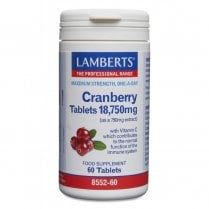 Cranberry Tablets 18,750mg 60's