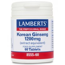 Korean Ginseng 1200mg 60's