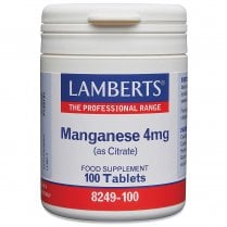 Manganese 5mg (as Citrate) 100's