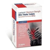 Maximum Strength Milk Thistle 300mg 30's