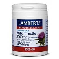 Milk Thistle 3000mg (as 100mg extract) 60's