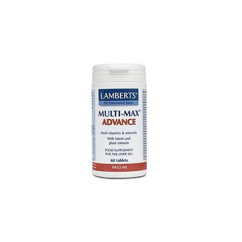 Lamberts Multi-Max Advance (with Lutein & plant extracts) - 120 tabs