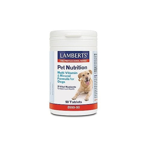 Lamberts Pet Nutrition Multi Vitamin and Mineral Formula for Dogs 90's