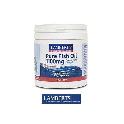 Lamberts Pure Fish Oil 1100mg (EPA 310mg, DHA 210mg) - 60 caps