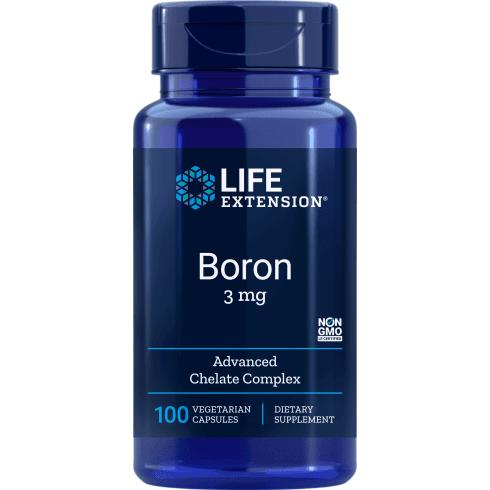 Life Extension Boron 3mg - 100 Capsules