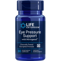Life Extension Eye Pressure Support with Mirtogenol - 30 Capsules