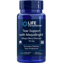 Life Extension Tear Support with MaquiBright - 30 Capsules