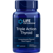 Life Extension Triple Action Thyroid - 60 Capsules