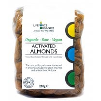 Activated Organic Almonds 250g