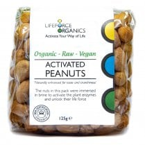 Activated Organic Peanuts 125g