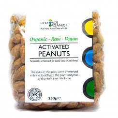 Activated Organic Peanuts 250g