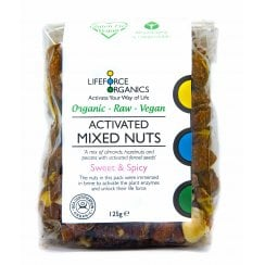 Activated Organic Sweet & Spicy Mixed Nuts 125g