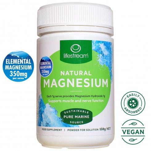 LifeStream Natural Magnesium 150g