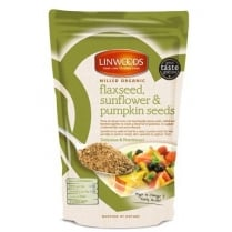 Milled Organic Flaxseed, Sunflower and Pumpkin Seeds 425g