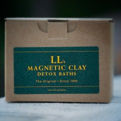 Magnestic Clay Bath - Smokers Detox - 5lb Bath Kit