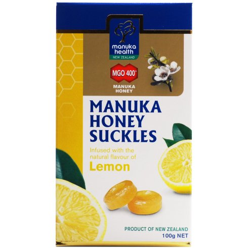 Manuka Health Products Manuka Health Lemon Honey Suckles - 100g