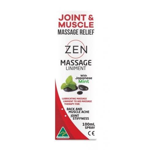 Martin and Pleasance Zen Massage Liniment with Japanese Mint 100ml