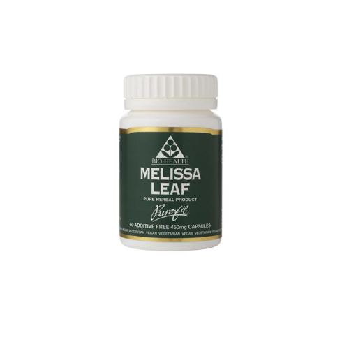 Bio-Health Melissa Leaf 450mg 60's