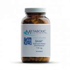 BAM (Balanced Amino Maintenance) 750mg - 180 Capsules