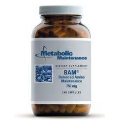 BAM (Balanced Amino Maintenance) 750mg - 90 Capsules