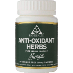 Mixed Herbal Antioxidant 250mg 60's