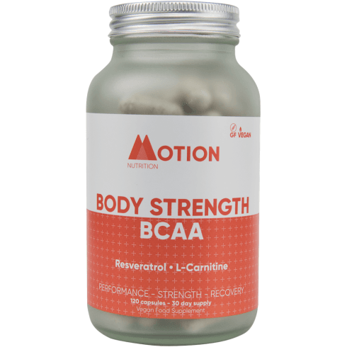 Motion Nutrition Body Strength BCAA 120's