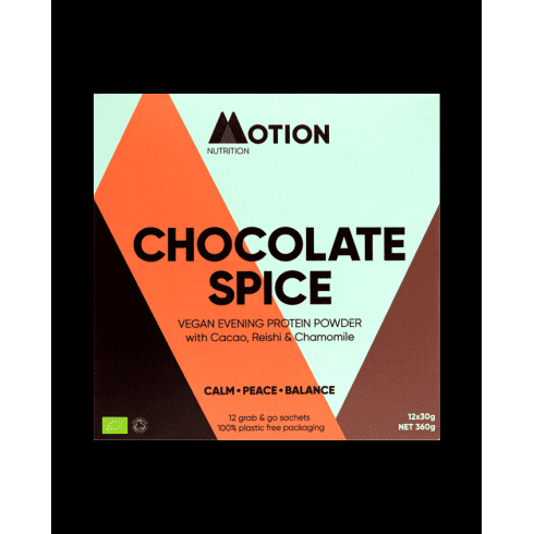 Motion Nutrition Chocolate Spice Protein Powder 12 x 30g