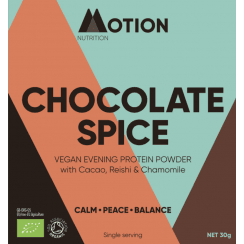 Chocolate Spice Vegan Evening Protein Powder 30g