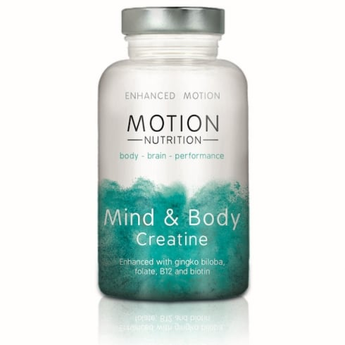 Motion Nutrition Mind & Body Creatine 120's