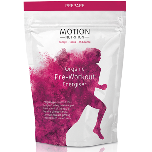 Motion Nutrition Organic Pre-Workout Energiser 200g