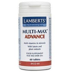 Multi-Max Advance (with Lutein & plant extracts) - 120 tabs