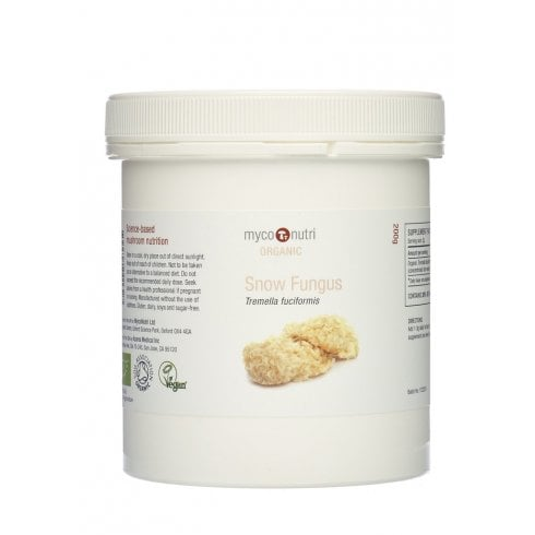 MycoNutri Snow Fungus Powder (Organic) 200g
