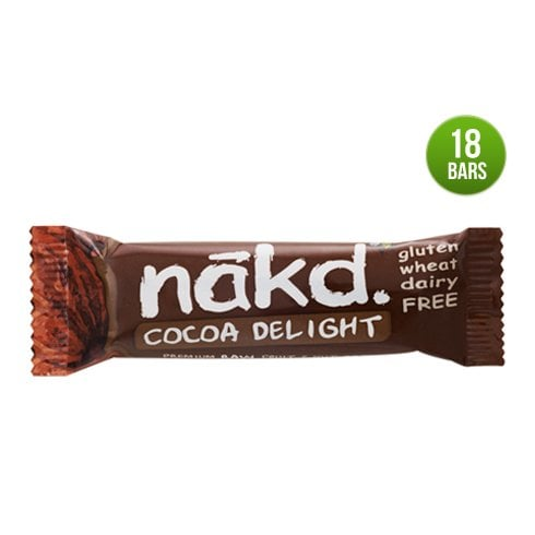 Nakd Cocoa Delight Bar 35g x 18 (CASE)