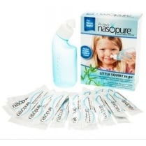 Nasopure Little Squirt To Go 4oz bottle + 20 salts