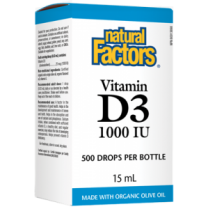 Vitamin D3 Drops 1000 IU 15ml