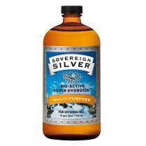 Sovereign Silver 946ml Polyseal Cap