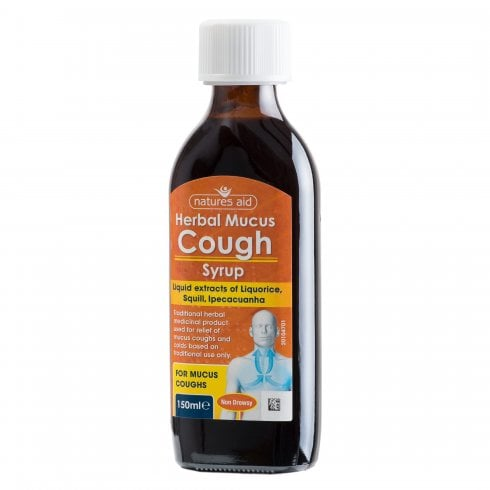 Nature's Aid Herbal Mucus Cough Syrup 150ml