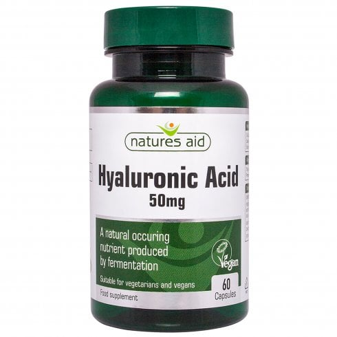 Nature's Aid Hyaluronic Acid 50mg 60's