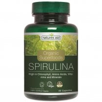 Organic Superfoods Spirulina 500mg 90's