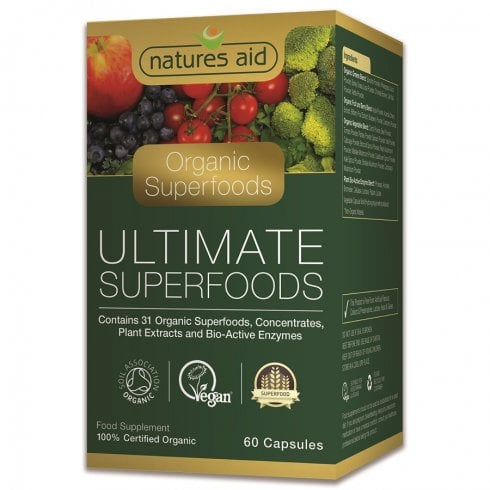 Natures Aid Organic Ultimate Superfoods 60's