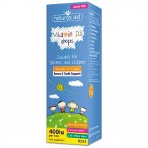 Vitamin D3 400iu Drops for infants & children 50ml