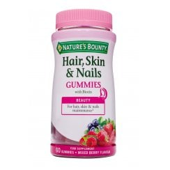 Hair, Skin & Nails Gummies 60's (Currently Unavailable)