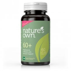 60+ Multivitamin & Mineral with Immune Support 60's