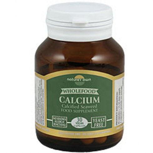 Nature's Own Calcium: Wholefood 200mg 30's