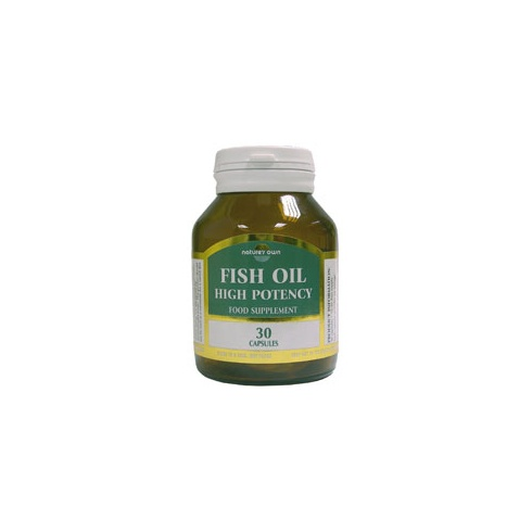 Nature 39 s own fish oil high potency capsules epa dha 30 39 s for High dha fish oil